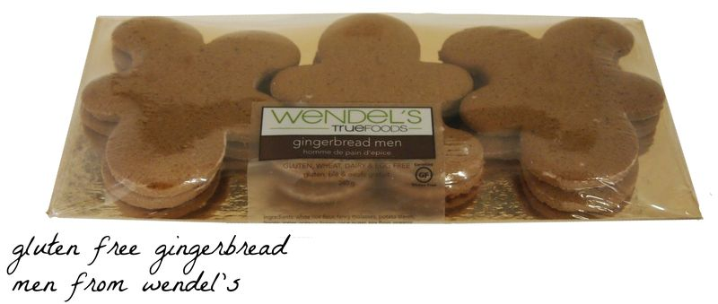 Gingerbread men plain 6 pack